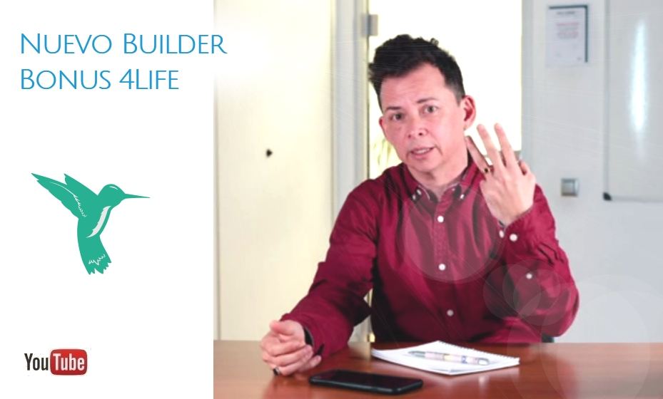 Nuevos Builder Bonus 4Life 2019 por Freelife4you
